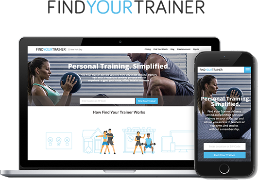 find your trainer